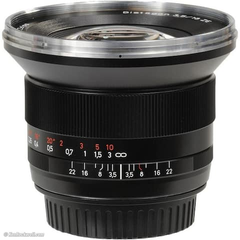 ZEISS 18mm 3.5 Lens for Canon