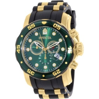 Link to Invicta Men's Pro Diver  Black Rubber Swiss Quartz Fashion Watch Similar Items in Men's Watches