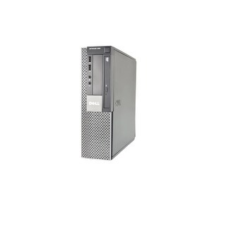 Dell OptiPlex 960 SFF Standard Refurb PC - Intel Core 2 Duo E8400 3.0 GHz 4GB DIMM DDR2 SATA 160GB DVD-ROM Win 10 Home 32-Bit