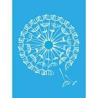 """Dandelion - Americana Decor Stencil 6""""X8"""""""