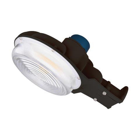 60 Watt LED Area Light CCT Selectable Photocell Dimmable 120-277 V