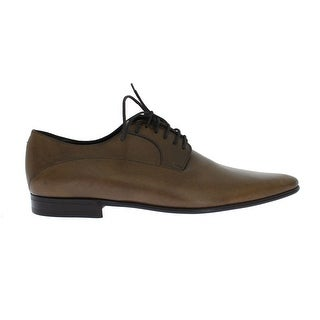 Dolce & Gabbana Dolce & Gabbana Brown Leather Dress Lace Up Formal Shoes