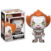 """FunKo POP! Movies IT Pennywise(with Boat) 3.75"""" Vinyl Figure - multi"""