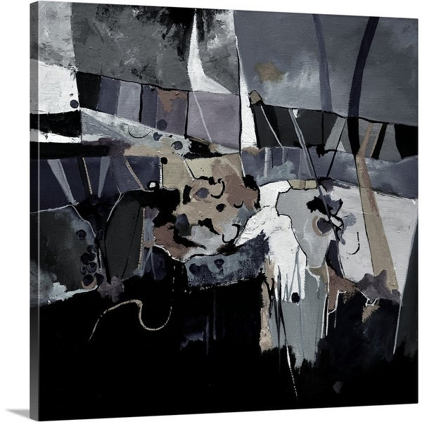 """Abstract 777130"" Canvas Wall Art"