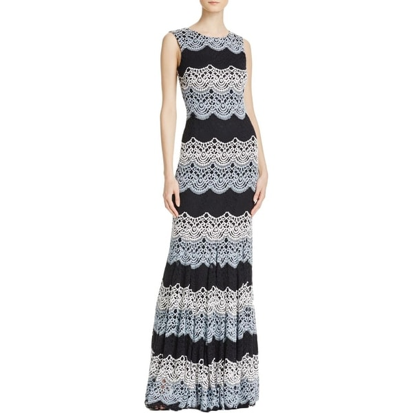 2fef6fb7 Shop Avery G Womens Evening Dress Lace Sheath - Free Shipping On Orders  Over $45 - Overstock - 17337622