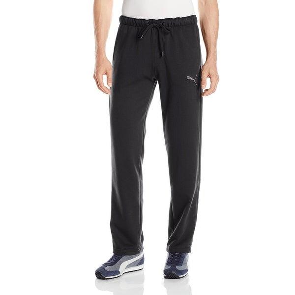 4cca2533d3 Shop Puma Black Mens Size XS Jogging Pull-On P48 Core Fleece Pants ...