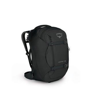 Osprey Porter 46L Travel Pack, Carry On Pack, Black