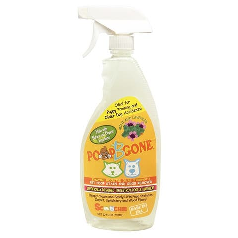 Poop B Gone Pet Poop Stain and Odor Remover 22 ounces or 1 Gallon Dogs & Cats