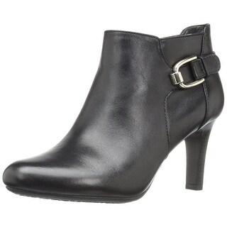 Bandolino Womens Layita Leather Closed Toe Ankle Fashion Boots Fashion Boots