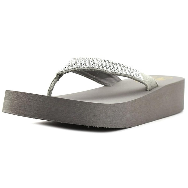 Callisto St. Barth Women Grey Sandals