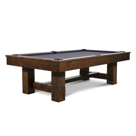 Denver 8' Slate Pool Table w/ Dining Top Option