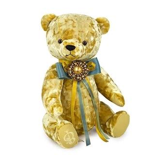 Link to Bear BernArt Stuffed Plush Toy in Godl Similar Items in Stuffed Toys