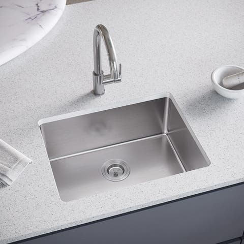 1823 Single Bowl Stainless Steel Kitchen Sink, and SinkLink