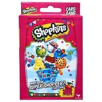 Shopkins Who's The Super Shopper Card Game