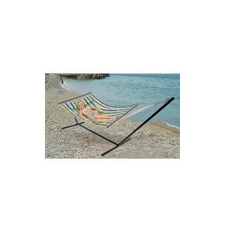 Stansport 30900 double cotton hammock w stand