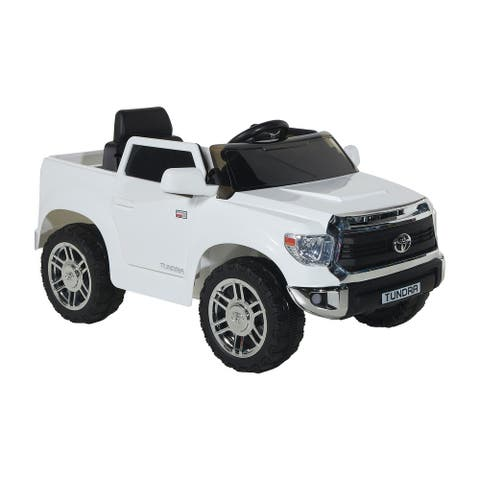 Toyota 6V Tundra For Ages 3-5 with Rechargeable Battery
