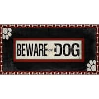 2018 Beware of Dog Wall Sign, Assorted Dogs by Art That Celebrates