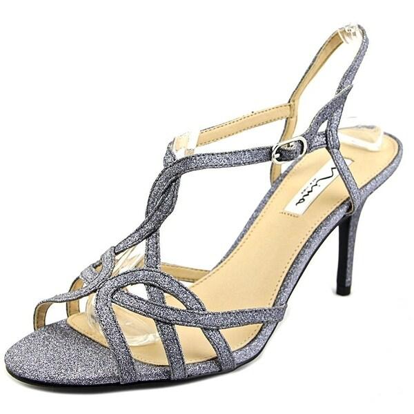Nina Womens Vencie Open Toe Ankle Strap Classic Pumps