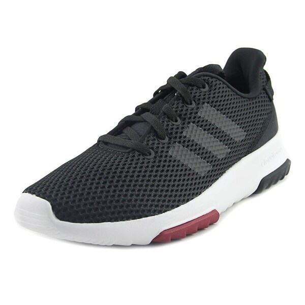 Adidas CF Racer TR Women Round Toe Canvas Black Sneakers