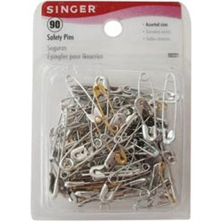 Sizes 00 To 2 90/Pkg - Safety Pins