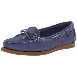 Eastland Womens Yarmouth Nubuck Moc-Toe Loafers - 7 medium (b,m)