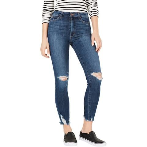 Joe's Womens Oksana Boot Cut Skinny Jeans