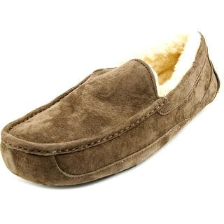 Ugg Australia Ascot Men Round Toe Suede Brown Slipper. Men s Slippers For Less   Overstock com
