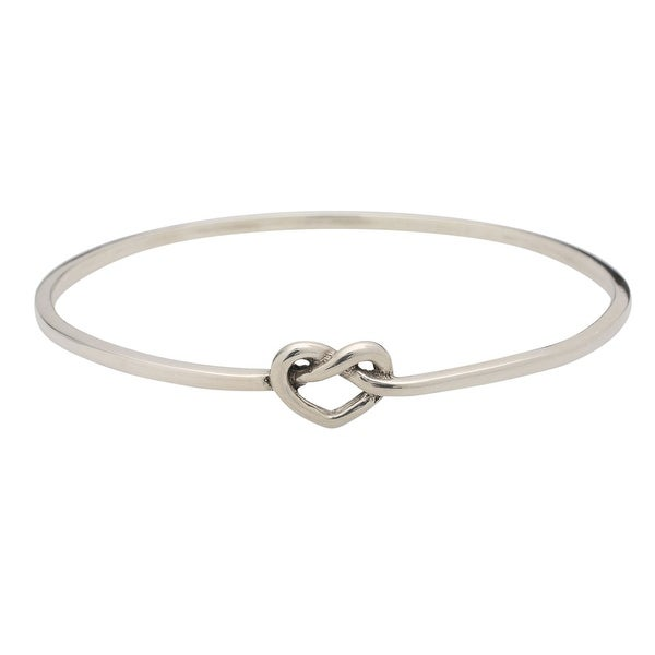 Women's Sterling Silver Love Knot Bracelet