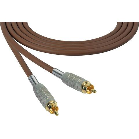 Sescom SC10RR Audio Cable Canare Star-Quad RCA Male to RCA Male