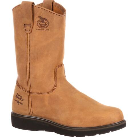 Georgia Boot Farm & Ranch Wellington Work Boots, #G4432