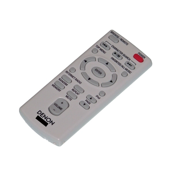 OEM Denon Remote Control Originally Supplied With: ASD-3N, ASD3N, ASD-3W, ASD3W