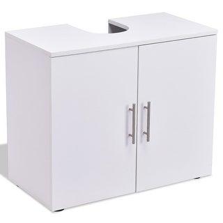 Non Pedestal Under Sink Bathroom Storage Vanity