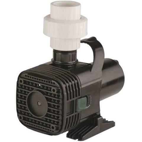 Little Giant 566724 Wet Rotor Pump, 1200 GPH, 157 Watt, 115 Volt