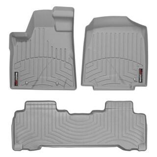 WeatherTech Honda Pilot 2006-2008 Grey Front & Rear Floor Mats FloorLiner 460591 460222