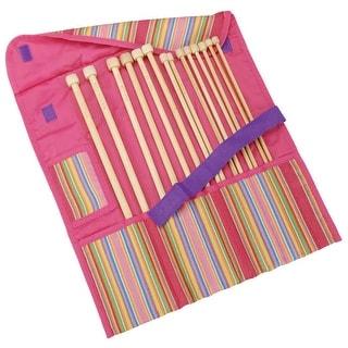 "Getaway Takumi Bamboo Single Point Knitting Needle Gift Set-13"" To 14"", Sizes 8 To 15"