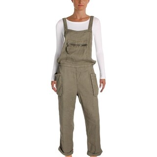 Free People Womens Overalls Linen Casual