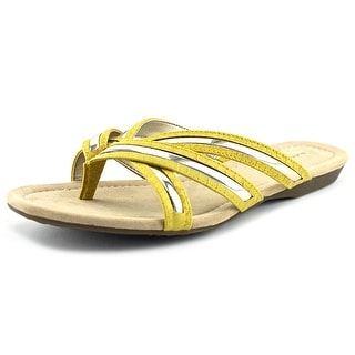Bandolino Naccari Open Toe Synthetic Thong Sandal