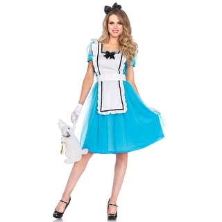 Leg Avenue Classic Alice Adult Costume - Blue