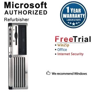 HP DC7700 Desktop Computer SFF Intel Core 2 Duo E6300 1.86G 2GB DDR2 80G Windows 7 Pro 1 Year Warranty (Refurbished) - Silver|https://ak1.ostkcdn.com/images/products/is/images/direct/92888dd48a129ddb653d00290eeb306232da0c25/HP-DC7700-Desktop-Computer-SFF-Intel-Core-2-Duo-E6300-1.86G-2GB-DDR2-80G-Windows-7-Pro-1-Year-Warranty-%28Refurbished%29.jpg?impolicy=medium