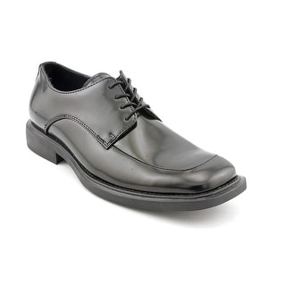Kenneth Cole NY Merge Men Square Toe Patent Leather Black Oxford