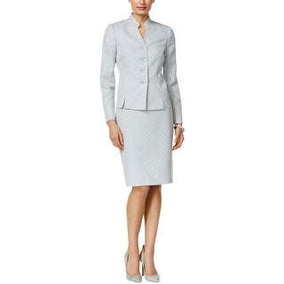 Le Suit Womens Skirt Suit 2PC Pattern