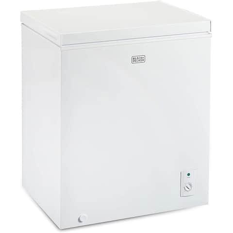 Black and Decker BCFK516 5.1ft Chest Freezer White