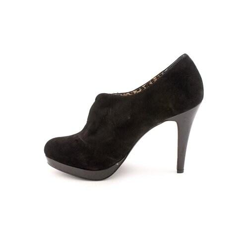 Style & Co. Womens Webb Leather Closed Toe Platform Pumps