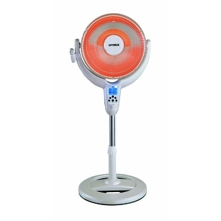 "Optimus H4500 14"" Oscillating Digital Pedestal Heater"