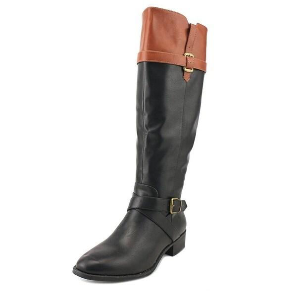 Rampage Imagine Women Black/Cognac Boots