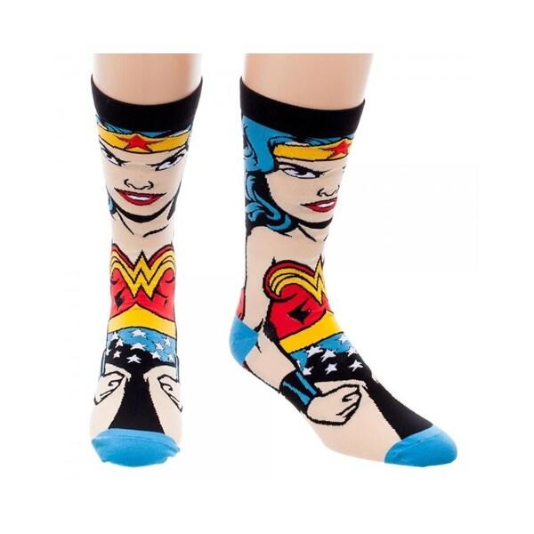 DC Comics Wonder Woman 360 Crew Socks