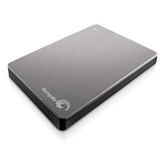 Seagate Backup Plus Slim 1Tb Portable External Hard Drive Usb 3.0, Silver (Stdr1000101)