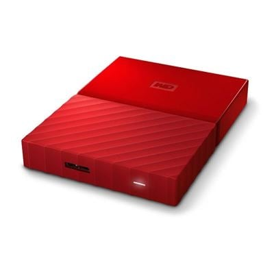 Wd Content Solutions Business Wdbyft0030brd-Wesn 3Tb My Passport Red