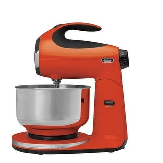 Sunbeam FPSBSM210T Heritage Series 350-Watt Stand Mixer Tangerine Orange - tangerine orange