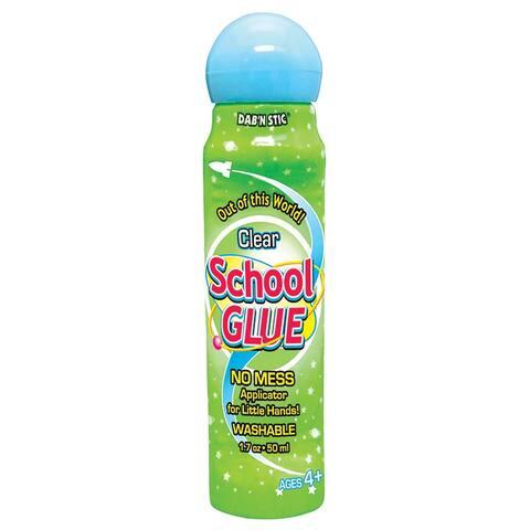 (2 Pk) Crafty Dab Glue School Glue 6 Per Pk